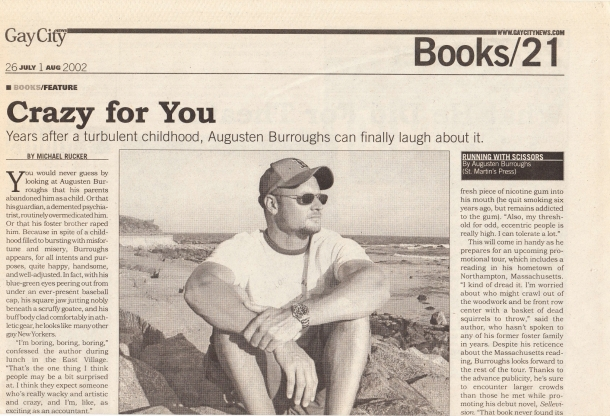 Augusten Burroughs - GCN